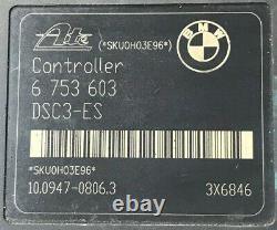 2000 BMW 325i 328i ABS Anti Lock Brake Pump Module Assembly 6 753 603