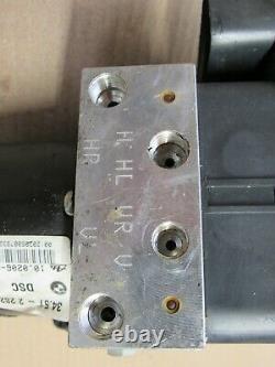 2004-2006 Bmw E46 M3 S54 Abs Brake Pump Hydraulic Unit Dsc Ecu Module Oem 17785