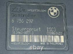 BMW 3er E46 Hydraulikblock DSC ABS Steuergerät 34516757387 Original 6756292