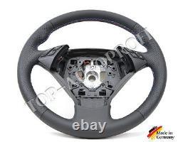BMW E60 E61 M Leder Lenkrad Sportlenkrad LCI ab 2008 neu beziehen 144