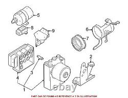 For BMW Genuine ABS Control Module 34511165467