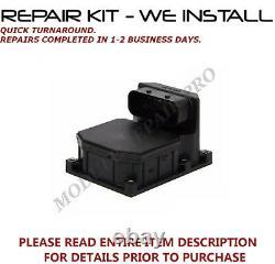 REPAIR Kit 99 00 01 02 03 BMW 540i or M5 ABS Pump Control Module WE INSTALL